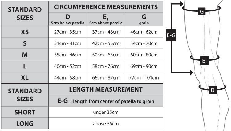 Circaid Juxta Fit Essentials Upper Leg With Knee Garment